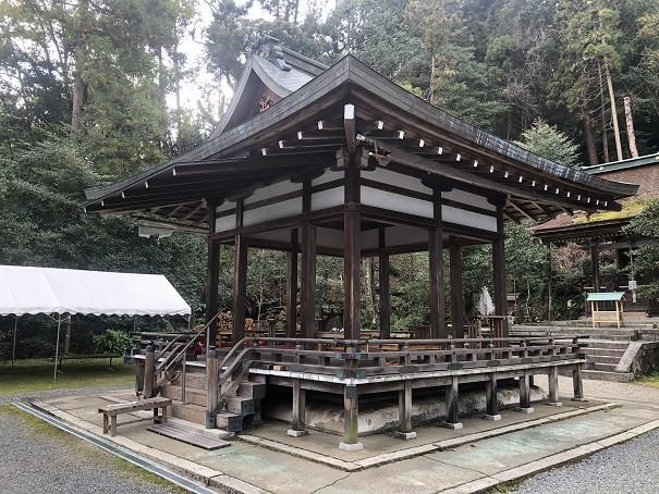 月読神社 舞殿