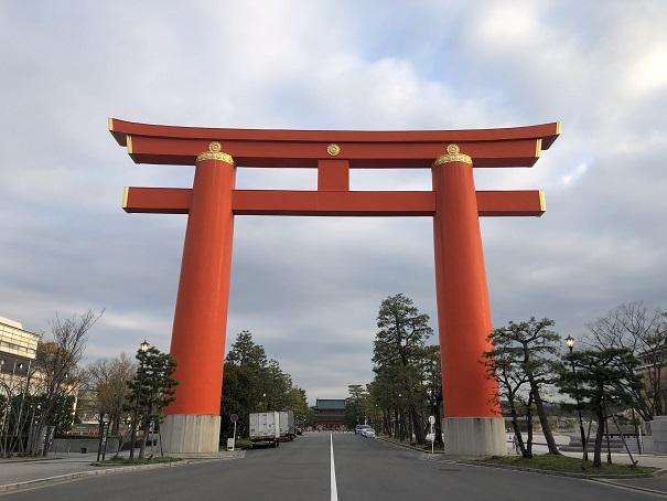 敷地面積約20,000坪「平安神宮」(京都市左京区)