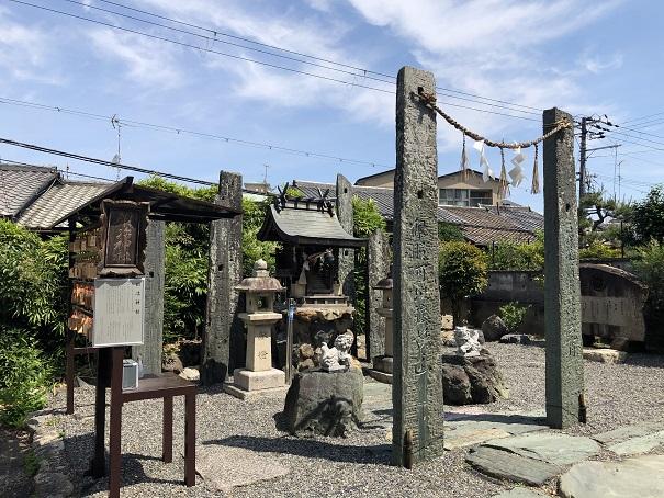 粟田神社の境内社「鍛冶神社」(京都市東山区)