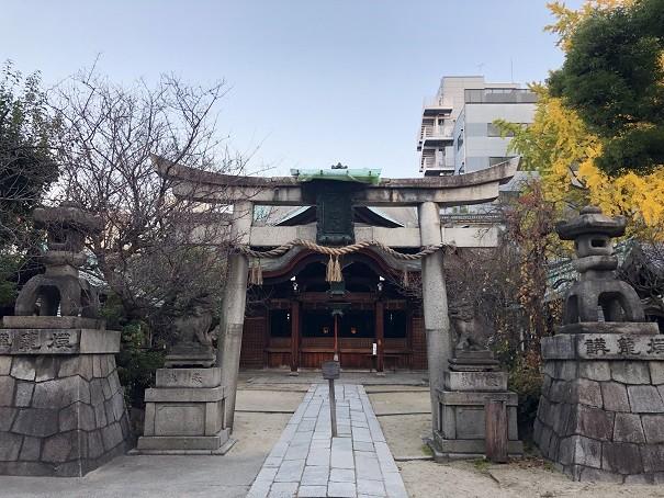 菅大臣神社 鳥居