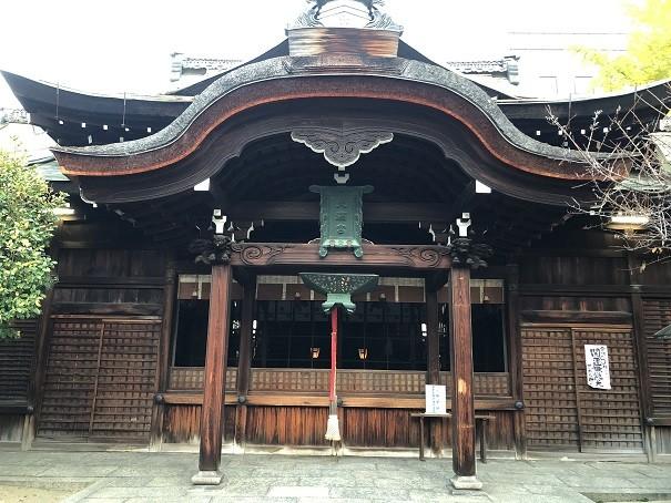 菅大臣神社 社殿