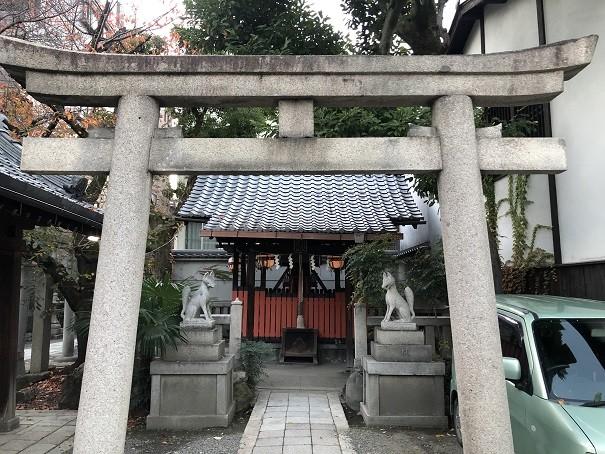 菅大臣神社 稲荷社