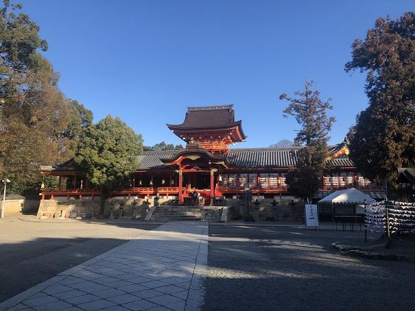 必勝のパワースポット「石清水八幡宮」(京都府八幡市)