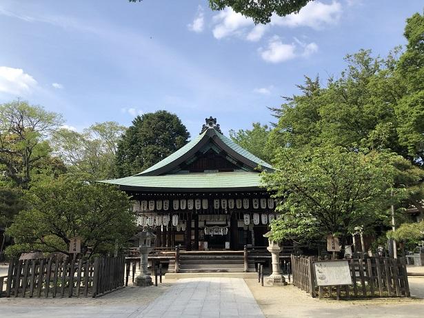 白峯神宮のアクセス