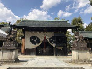 わら天神宮の境内社「六勝神社」(京都市北区)