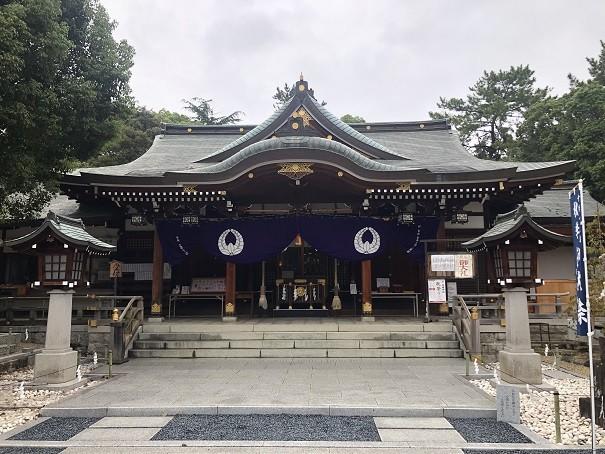 辛国神社 拝殿