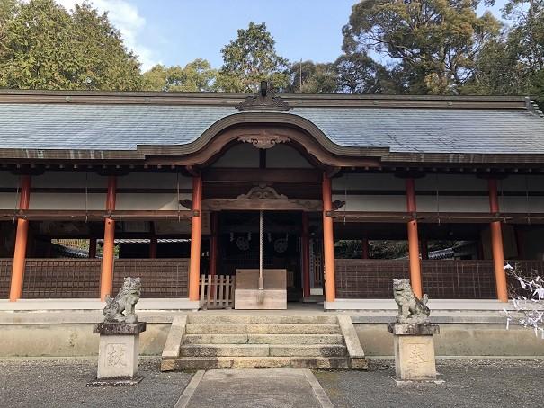 海神社 拝殿