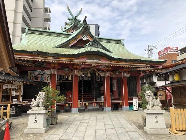 尼崎えびす神社 拝殿