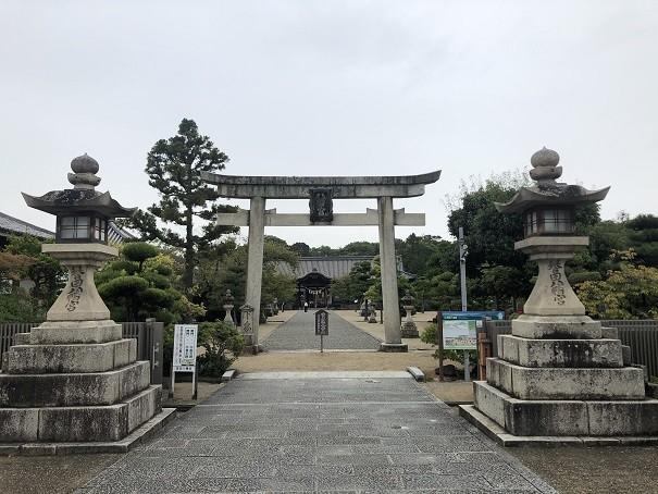 誉田八幡宮 鳥居