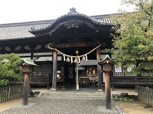 誉田八幡宮 拝殿