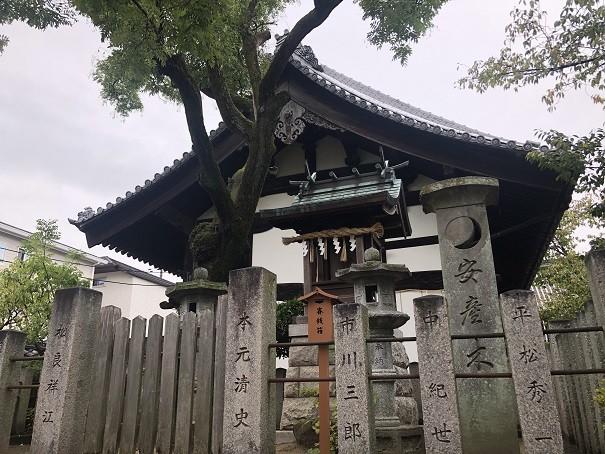 誉田八幡宮の境内社(摂社・末社)