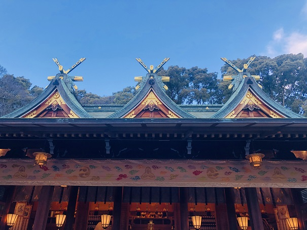 本殿は3つに分かれておりご祭神のメインはえびす大神西宮神社