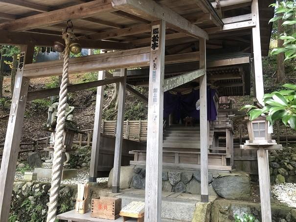 御髪神社 拝殿