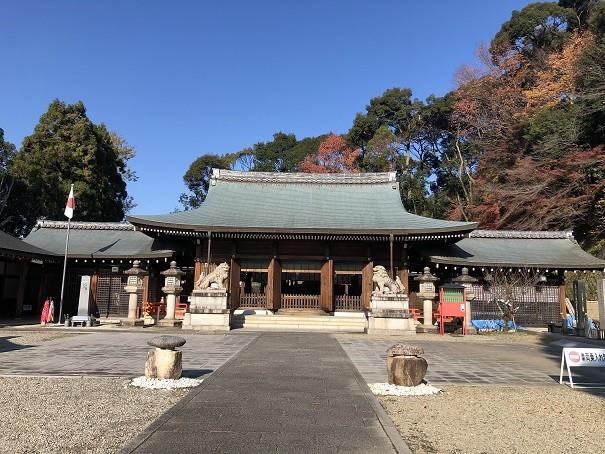 京都霊山護国神社 拝殿