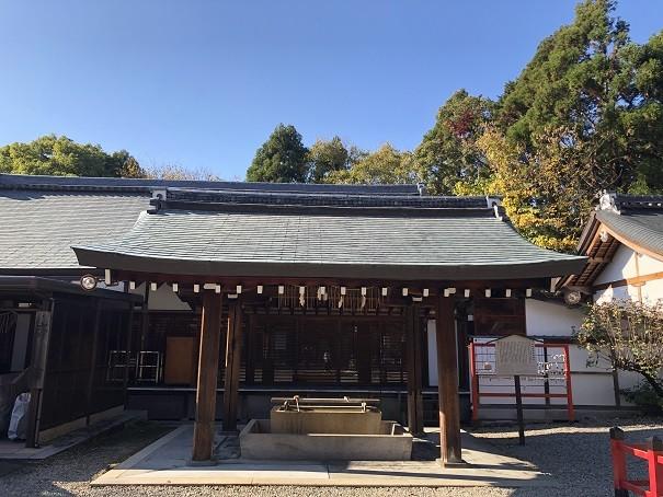 京都霊山護国神社 手水舎
