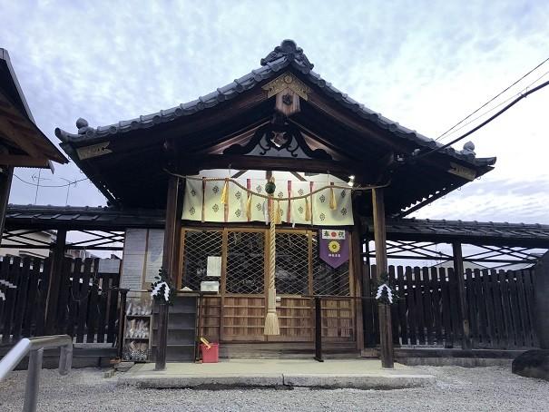 櫟谷七野神社 拝殿