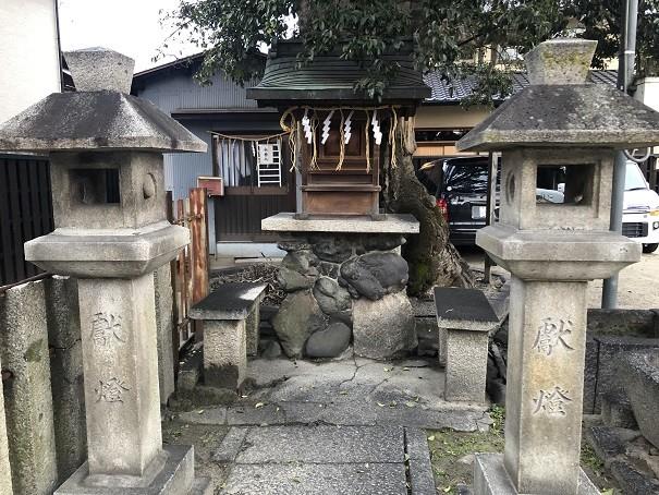 櫟谷七野神社 摂社末社