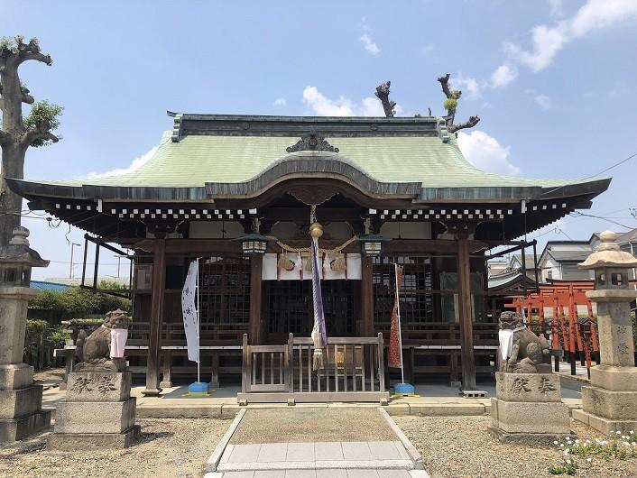 戸ノ内素戔嗚神社 拝殿
