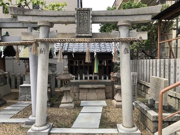 堤根神社 九頭八幡社