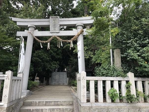 越木岩神社 鳥居