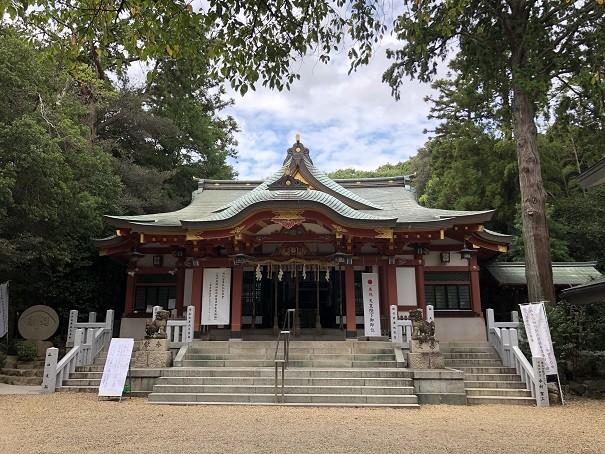 越木岩神社 拝殿