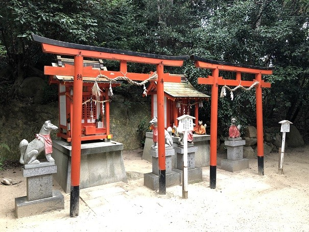 越木岩神社 稲荷社