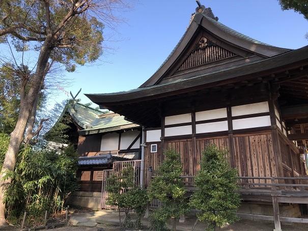 津嶋部神社 本殿