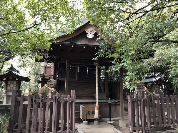 亀之森住吉神社 荒神社・恵美須神社