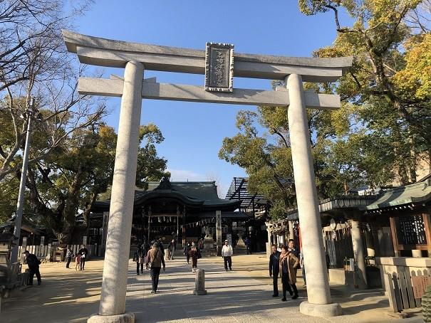 石切劔箭神社 百度参り