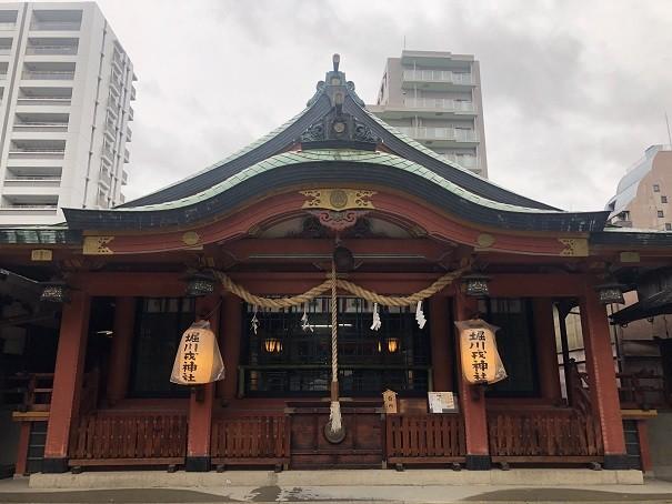 堀川戎神社 拝殿