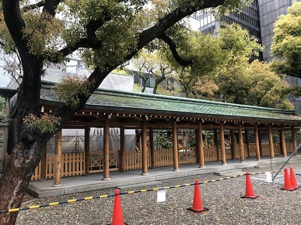 坐摩神社 五社