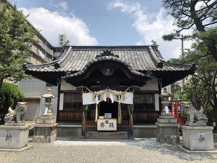塚本神社 社殿