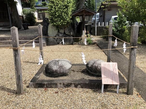 三輪素戔嗚神社 磐座