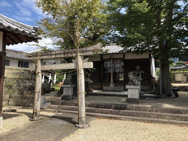 三輪素戔嗚神社 拝殿
