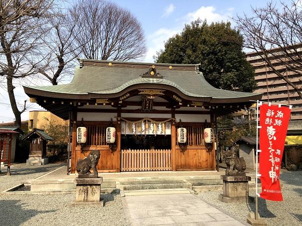 呉服神社の境内社(摂社・末社)恵美須社