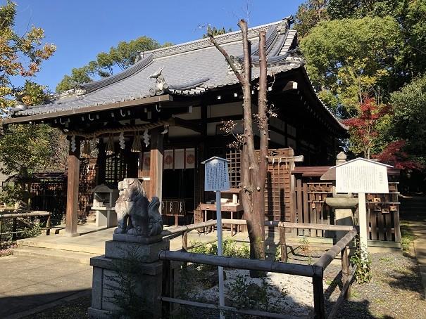 新熊野神社 拝殿