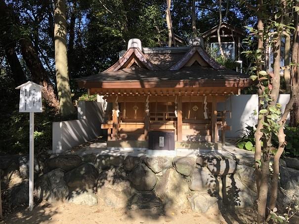 新熊野神社 上之社
