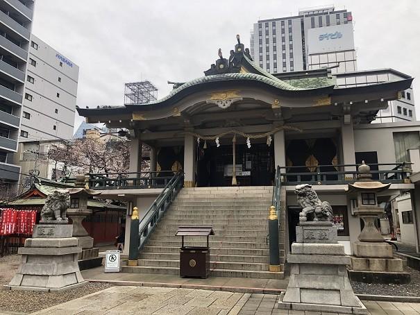 難波神社 社殿