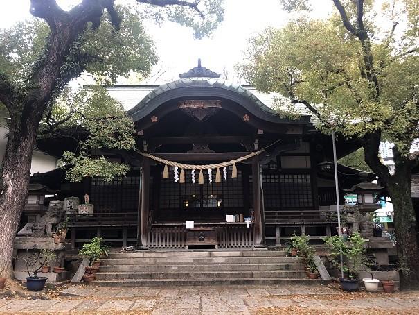 福島天満宮 拝殿