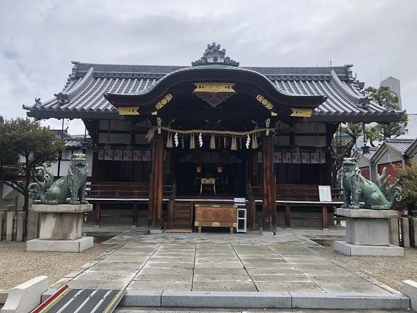 野田恵美須神社 社殿