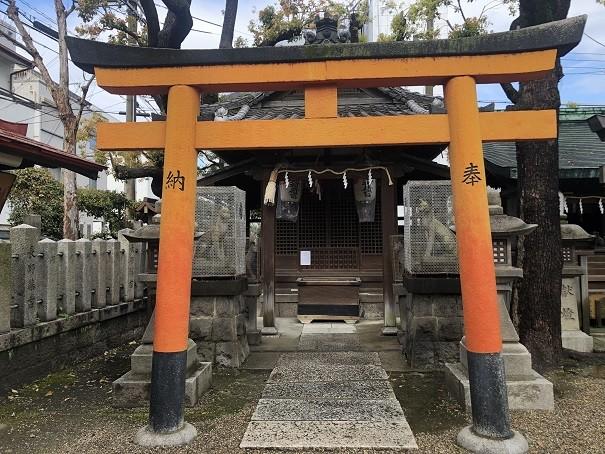 野田恵美須神社 稲荷社