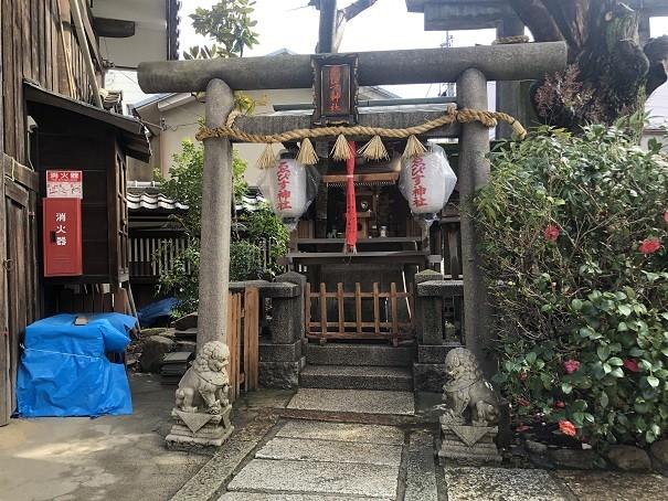 海老江八坂神社海老洲神社