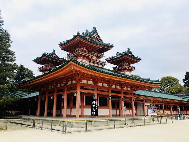 """国の重要文化財に指定されている""""蒼龍楼""""と""""白虎楼"""""""