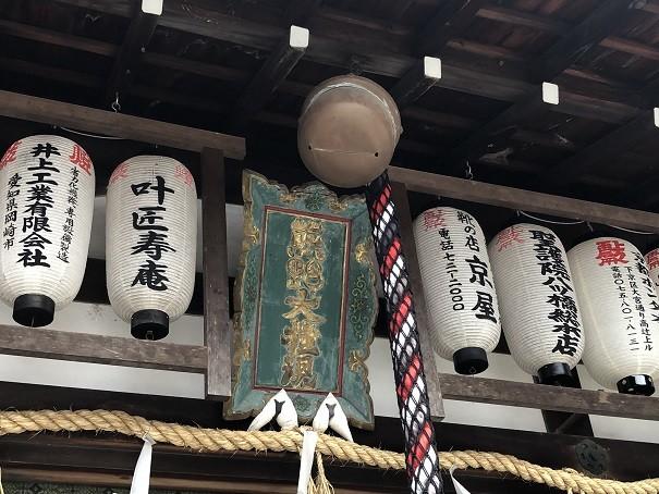 熊野若王子神社 神額