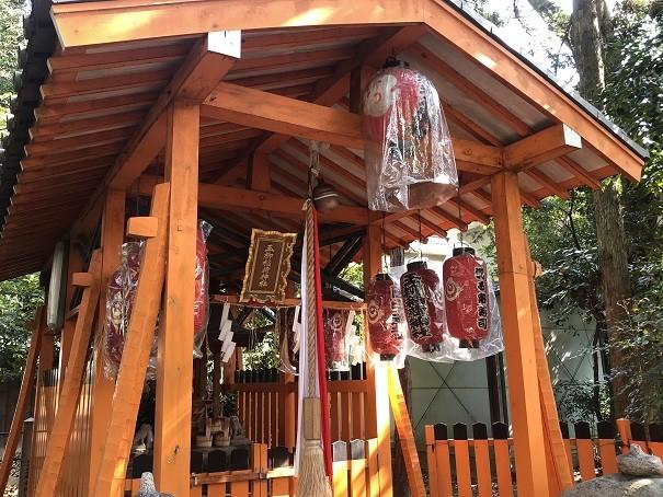 京都田中神社 玉柳稲荷神社