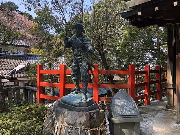 八大神社 宮本武蔵