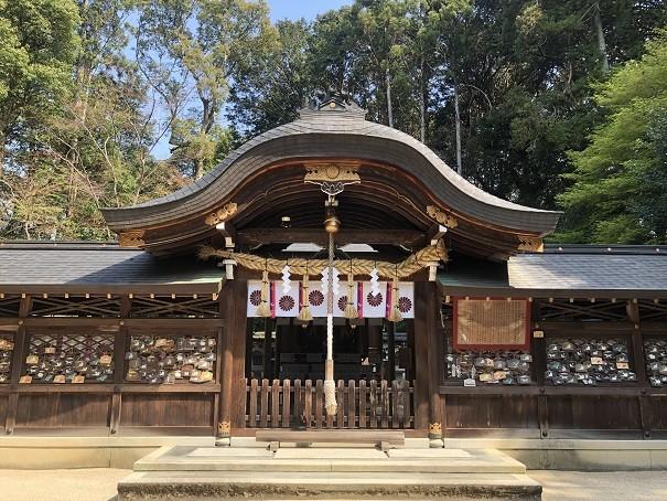 鷺森神社 社殿