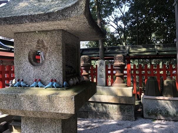 三宅八幡宮 神鳩