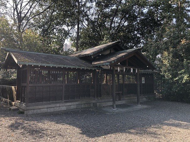西院野々宮神社 拝殿