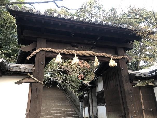 東雲神社 神門